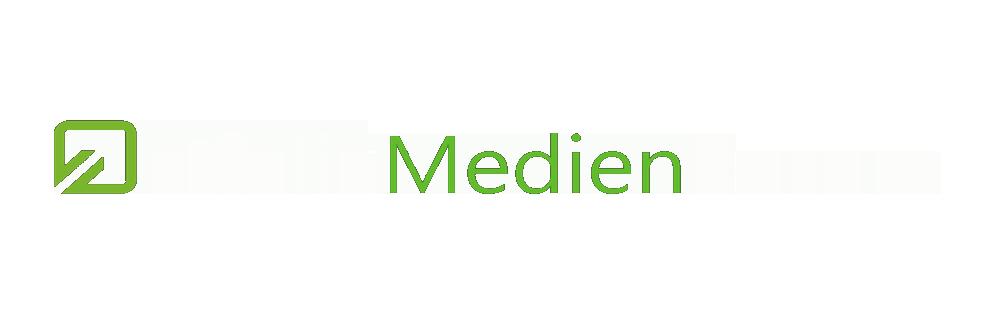 Medienforum_Logo_Weiß/Grün